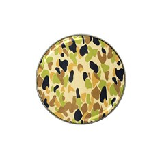 Army Camouflage Pattern Hat Clip Ball Marker (4 Pack) by Nexatart