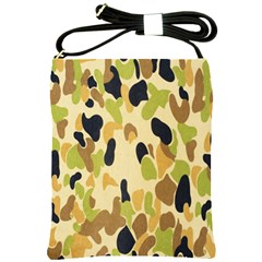 Army Camouflage Pattern Shoulder Sling Bags by Nexatart