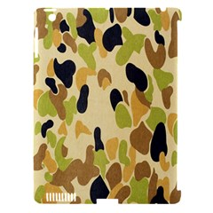 Army Camouflage Pattern Apple Ipad 3/4 Hardshell Case (compatible With Smart Cover) by Nexatart