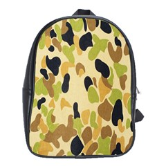 Army Camouflage Pattern School Bags (xl)
