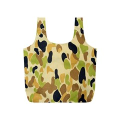 Army Camouflage Pattern Full Print Recycle Bags (s)