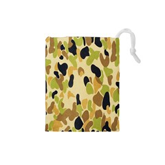 Army Camouflage Pattern Drawstring Pouches (small)