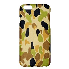 Army Camouflage Pattern Apple Iphone 6 Plus/6s Plus Hardshell Case by Nexatart