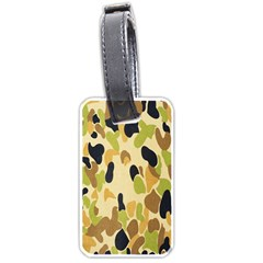Army Camouflage Pattern Luggage Tags (one Side)
