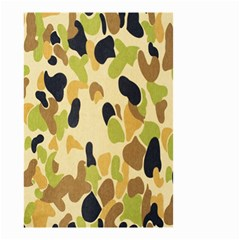 Army Camouflage Pattern Small Garden Flag (two Sides) by Nexatart