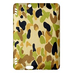 Army Camouflage Pattern Kindle Fire Hdx Hardshell Case by Nexatart