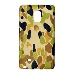 Army Camouflage Pattern Galaxy Note Edge by Nexatart