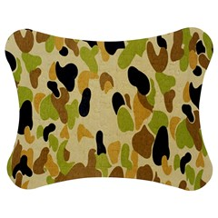 Army Camouflage Pattern Jigsaw Puzzle Photo Stand (bow) by Nexatart