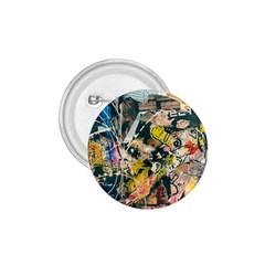 Art Graffiti Abstract Vintage 1 75  Buttons by Nexatart