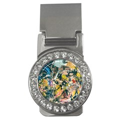 Art Graffiti Abstract Vintage Money Clips (cz)  by Nexatart