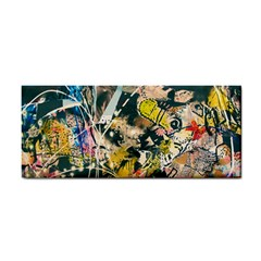 Art Graffiti Abstract Vintage Cosmetic Storage Cases by Nexatart