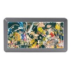 Art Graffiti Abstract Vintage Memory Card Reader (mini) by Nexatart