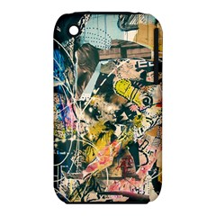 Art Graffiti Abstract Vintage Iphone 3s/3gs by Nexatart