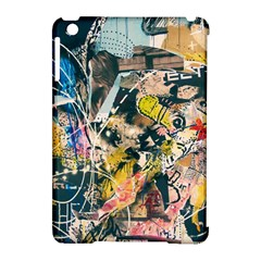 Art Graffiti Abstract Vintage Apple Ipad Mini Hardshell Case (compatible With Smart Cover) by Nexatart