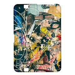 Art Graffiti Abstract Vintage Kindle Fire Hd 8 9  by Nexatart