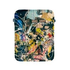 Art Graffiti Abstract Vintage Apple Ipad 2/3/4 Protective Soft Cases by Nexatart