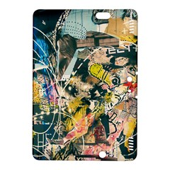 Art Graffiti Abstract Vintage Kindle Fire Hdx 8 9  Hardshell Case by Nexatart