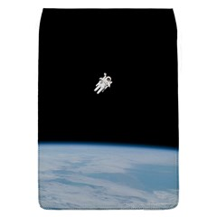 Astronaut Floating Above The Blue Planet Flap Covers (s)