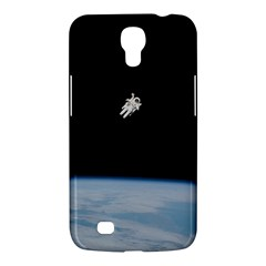 Astronaut Floating Above The Blue Planet Samsung Galaxy Mega 6 3  I9200 Hardshell Case