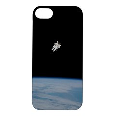 Astronaut Floating Above The Blue Planet Apple Iphone 5s/ Se Hardshell Case