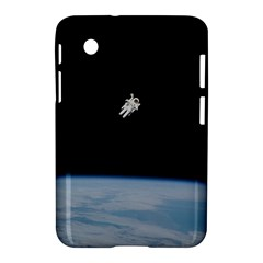 Astronaut Floating Above The Blue Planet Samsung Galaxy Tab 2 (7 ) P3100 Hardshell Case
