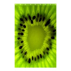 Kiwi Fruit Slices Cut Macro Green Shower Curtain 48  X 72  (small)  by Alisyart