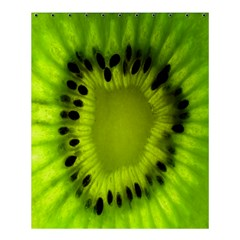 Kiwi Fruit Slices Cut Macro Green Shower Curtain 60  X 72  (medium)  by Alisyart