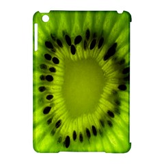 Kiwi Fruit Slices Cut Macro Green Apple Ipad Mini Hardshell Case (compatible With Smart Cover) by Alisyart
