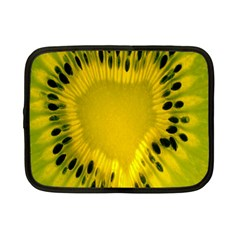 Kiwi Fruit Slices Cut Macro Green Yellow Netbook Case (small)  by Alisyart