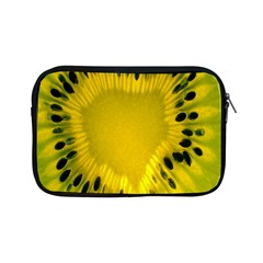 Kiwi Fruit Slices Cut Macro Green Yellow Apple Ipad Mini Zipper Cases by Alisyart