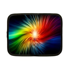 Lamp Light Galaxy Space Color Netbook Case (small)  by Alisyart