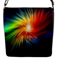 Lamp Light Galaxy Space Color Flap Messenger Bag (s) by Alisyart