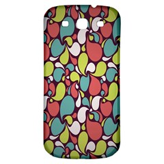 Leaf Camo Color Flower Samsung Galaxy S3 S Iii Classic Hardshell Back Case by Alisyart