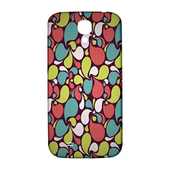 Leaf Camo Color Flower Samsung Galaxy S4 I9500/i9505  Hardshell Back Case by Alisyart