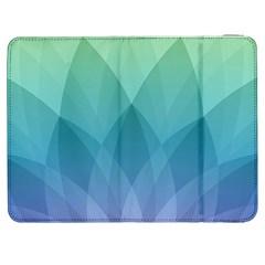 Lotus Events Green Blue Purple Samsung Galaxy Tab 7  P1000 Flip Case by Alisyart