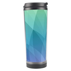 Lotus Events Green Blue Purple Travel Tumbler by Alisyart