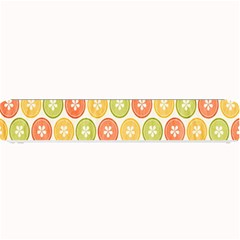 Lime Orange Fruit Slice Color Small Bar Mats by Alisyart