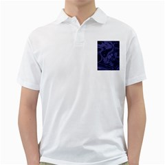Marble Blue Marbles Golf Shirts