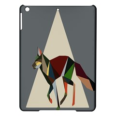Nature Animals Artwork Geometry Triangle Grey Gray Ipad Air Hardshell Cases by Alisyart