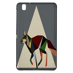 Nature Animals Artwork Geometry Triangle Grey Gray Samsung Galaxy Tab Pro 8 4 Hardshell Case by Alisyart