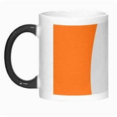 Orange White Egg Easter Morph Mugs