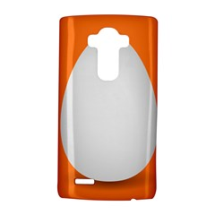 Orange White Egg Easter Lg G4 Hardshell Case by Alisyart