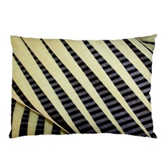 Line Chevron Triangle Grey Pillow Case (two Sides) by Alisyart