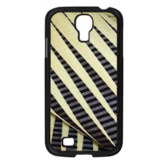 Line Chevron Triangle Grey Samsung Galaxy S4 I9500/ I9505 Case (black) by Alisyart