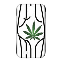 Marijuana Jail Leaf Green Black Samsung Galaxy S4 Classic Hardshell Case (pc+silicone)