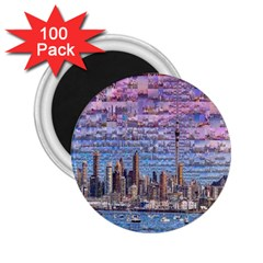 Auckland Travel 2 25  Magnets (100 Pack)