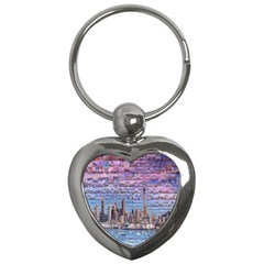 Auckland Travel Key Chains (heart)