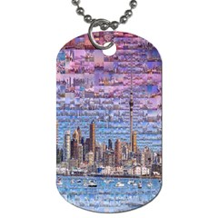 Auckland Travel Dog Tag (one Side)