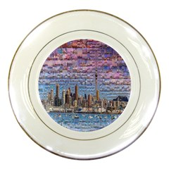 Auckland Travel Porcelain Plates