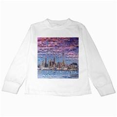 Auckland Travel Kids Long Sleeve T Shirts